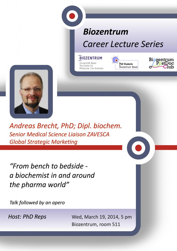Career seminar poster_Andreas Brecht