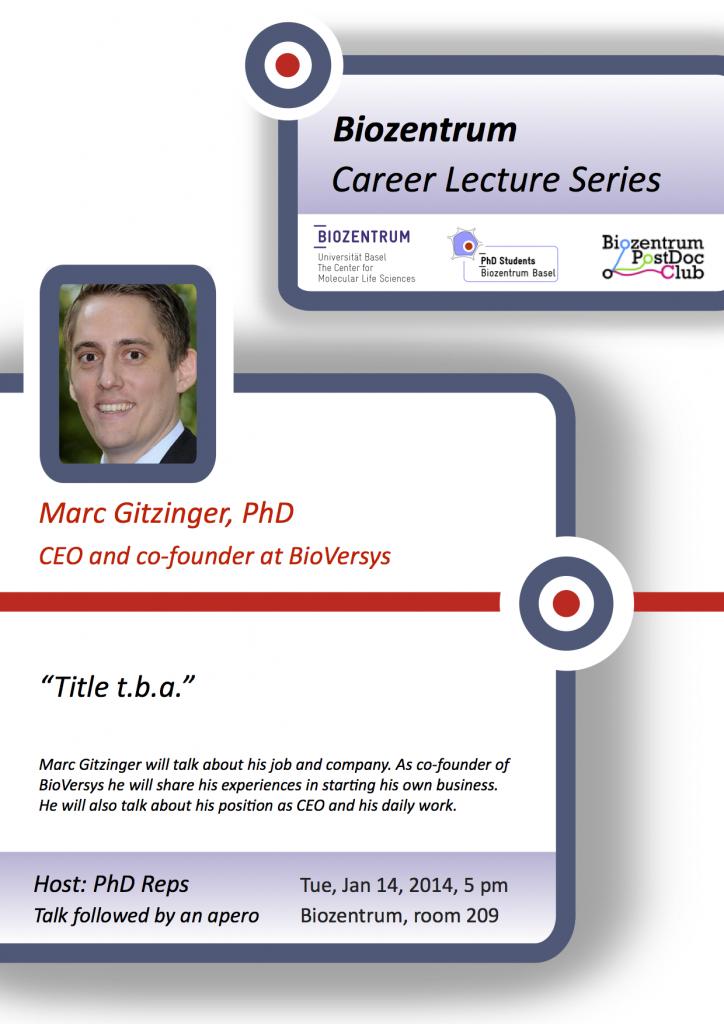 Career seminar poster_Marc Gitzinger